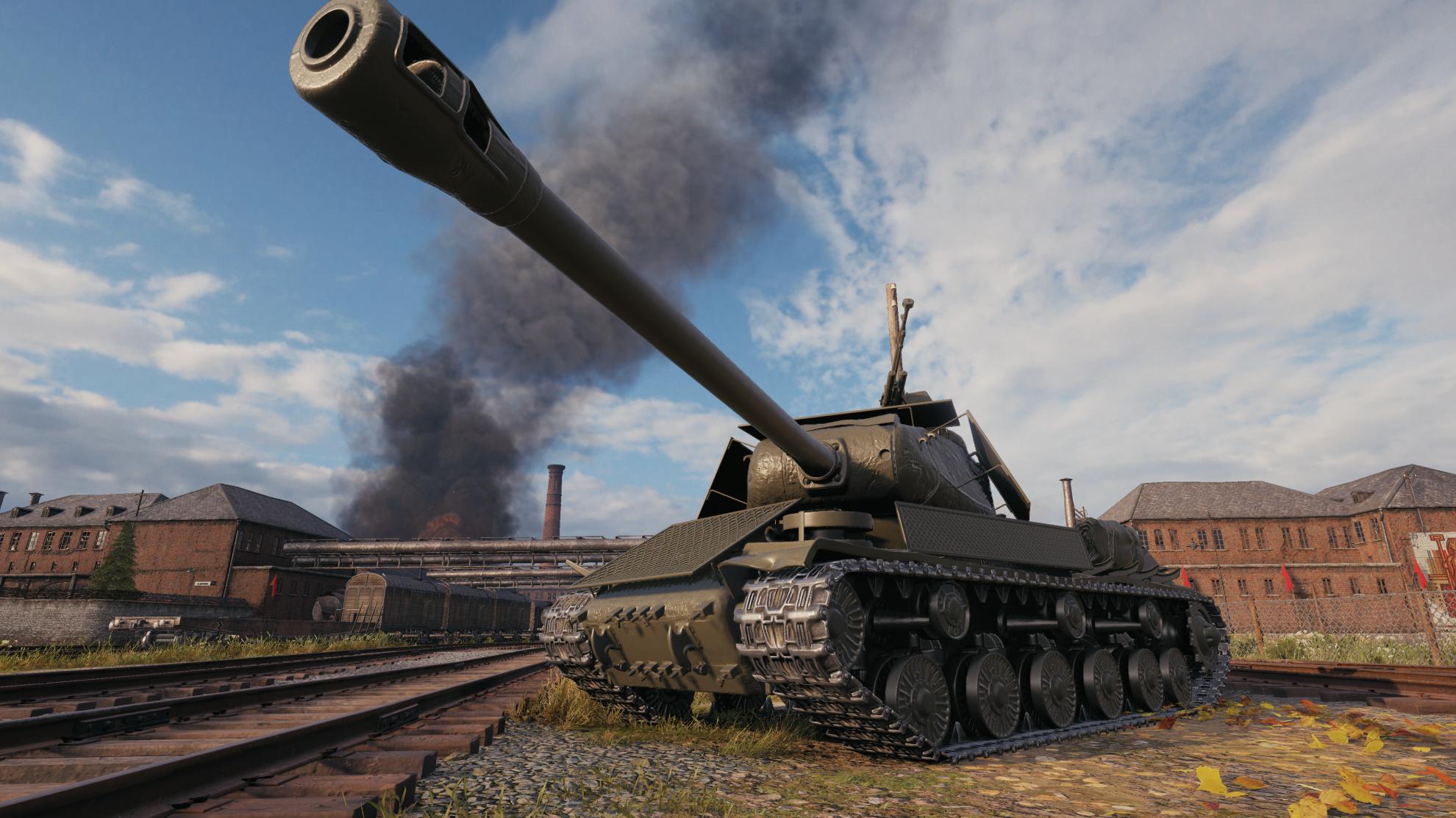 Обзор ИС-2Э — прем танк в награду за новое событие в WoT
