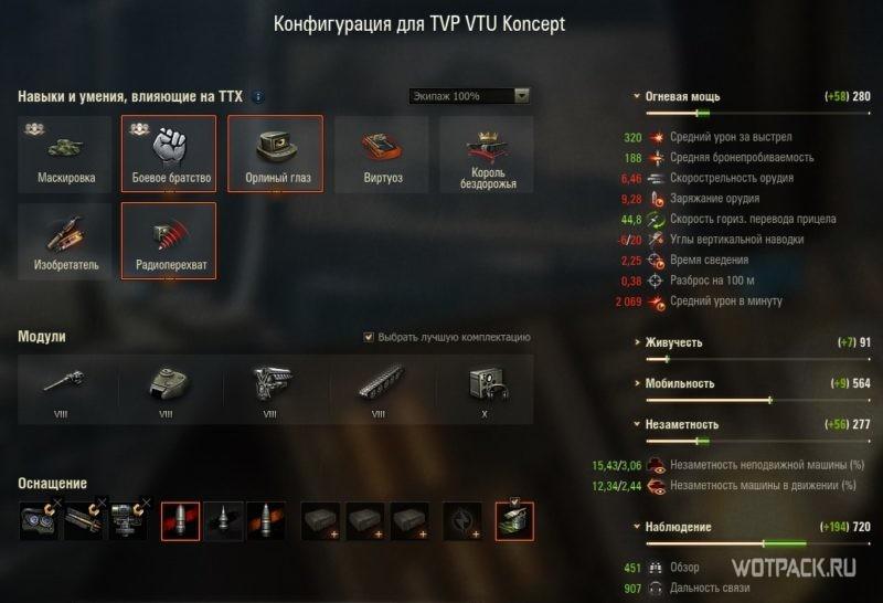 конфигурация TVP VTU Koncept 1