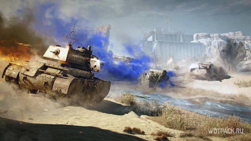 World of Tanks обновление 1.10