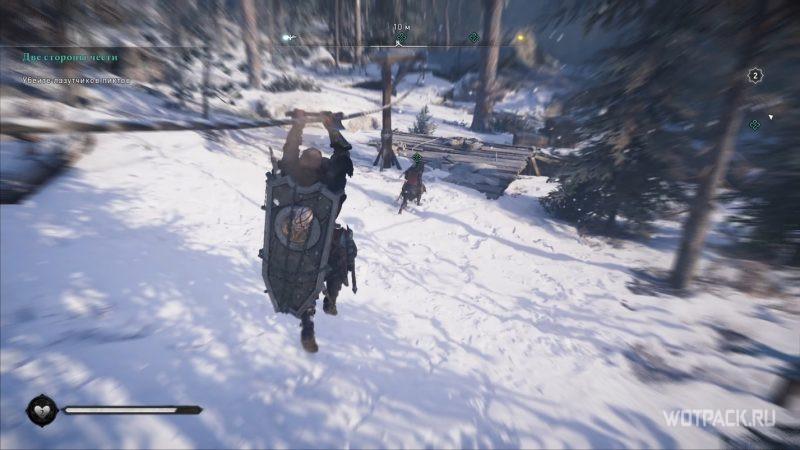 Assassin's Creed: Valhalla – Эйвор на тросе