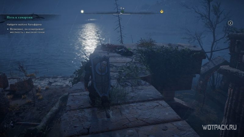 Assassin's Creed: Valhalla – раненый воин