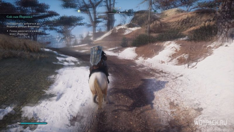 Assassin's Creed: Valhalla – Пьяный Эйвор на лошади