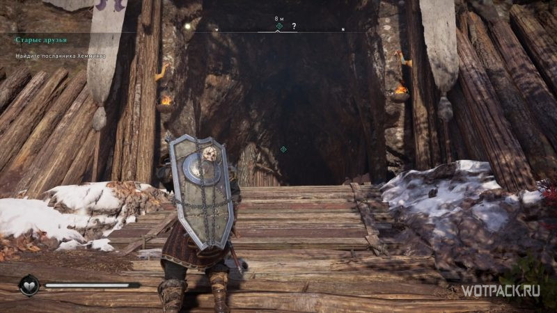 Assassin's Creed: Valhalla – Вход в пещеру