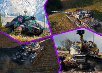 Лучшие танки для битвы блогеров 2021 в WoT