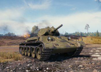 Т-34 образца 1940 года WoT