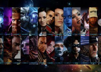 Mass Effect все персонажи